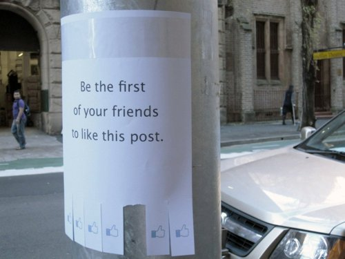 Street Posters that Stick