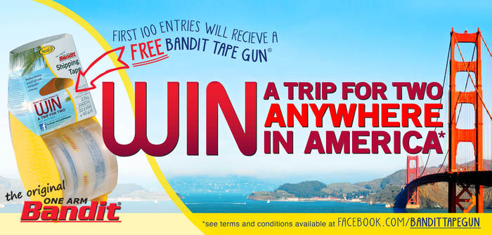 Bandit Anywhere in America Sweepstakes Terms and Conditions