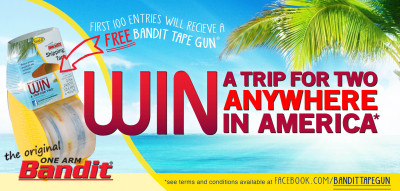 Bandit Anywhere in America Sweepstakes