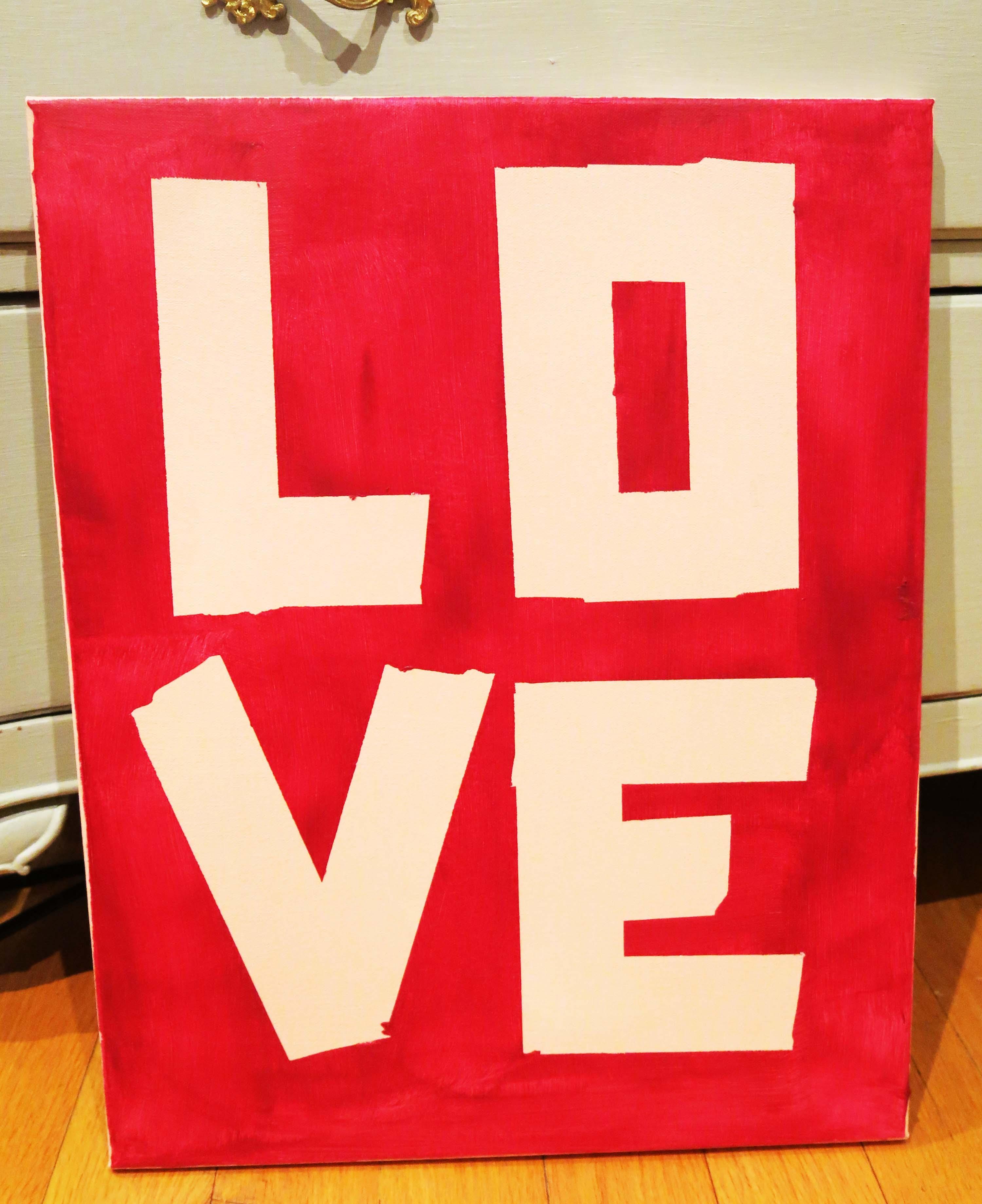 DIY Valentine's Craft with Bandit
