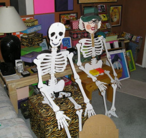 skeleton-couple