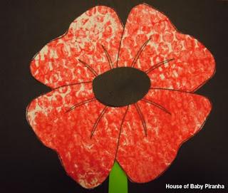 remembrance-day-craft-bubblewrap