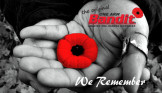 """Never Forget"" on Remembrance Day"