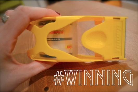 Winning with Bandit Tape Gun